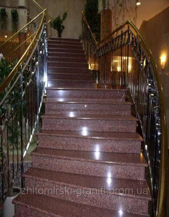 Гранітні сходи фото 2