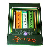 Благовоние Green Tara, набор тибетских благовоний для релакса