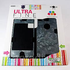 Виниловая наклейка для Apple iPhone 4/4S, ITOP Ultra Fine, комплект, матовая, рисунок 3 /накладка/чехол /айфон