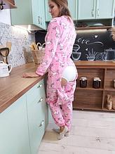 Пижама Единорог с карманом на попе Попожама