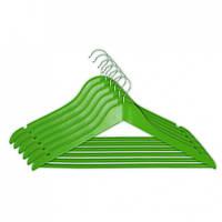 Набор вешалок для одежды Мій Дім EVERYDAY 44.5 х 1.2 см, 6 шт зеленые