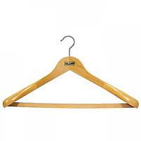 Вішалка для важкої одягу VILAND з гумовою стрічкою на перекладині 50.5 х 26 см