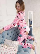 Пижама Микимауса с карманом на попе Попожама