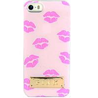 """Чехол-накладка для Apple iPhone 5SE iPhone 5S iPhone 5, силиконовый, PINK, """"Lips"""" ,Светло-розовый  /case/кейс, фото 1"""