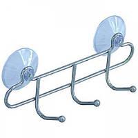Крючки для ванной на присосках ARTEX 3 шт