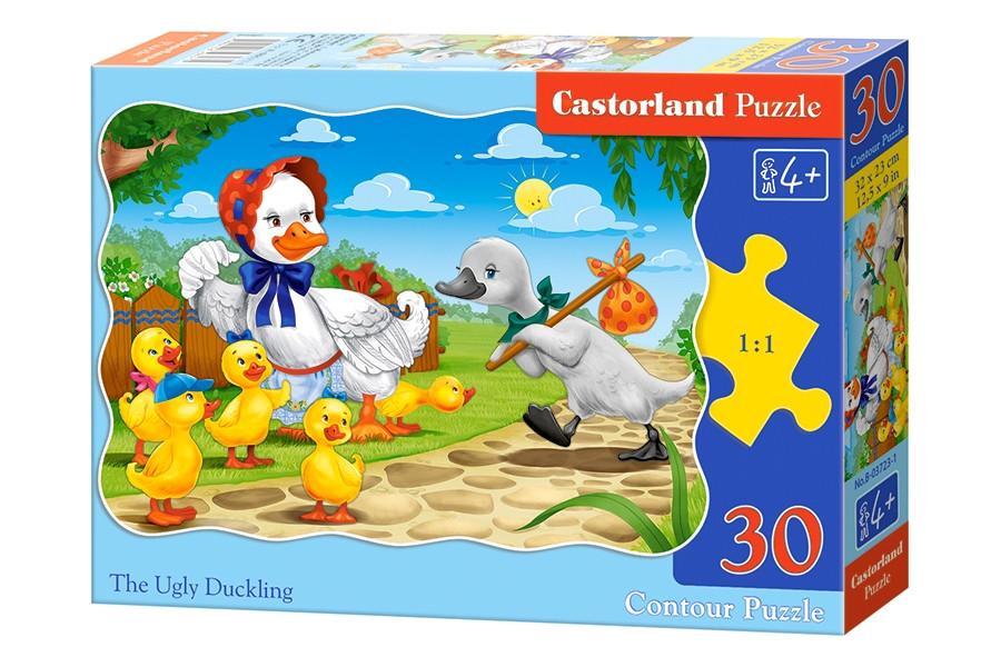 Пазлы Castorland на 30 элементов THE UGLY DUCKLING B-03723