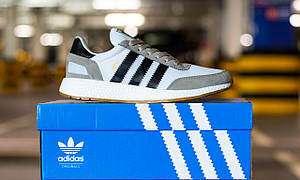 Кроссовки мужские Adidas Iniki Runner Footwear White Адидас Иники Белые