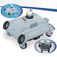 Автоматический подводный робот - пылесос для бассейнов, вакуумный пылесос Intex 28001 для очистки дна, фото 1