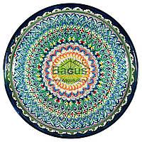 Ляган узбекский (тарелка узбекская) диаметр 45см ручная работа 4505-14