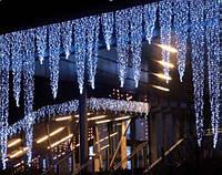 Гирлянда бахрома уличная 178 LED 3 метра на 30 , 50, и 60 см синяя