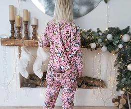 Пижама Hello Kitty с карманом на попе Попожама