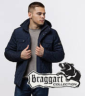 Braggart Dress Code 1698 | Куртка зимняя на меху синяя, фото 1