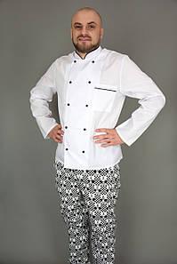 Кітель кухарський білий «КЛАСИКА»