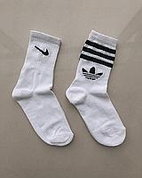Высокие носки Nike Adidas / Тренировочные Носки Найк Адидас