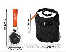 Складная компактная сумка шоппер Shopping bag to roll up, фото 3