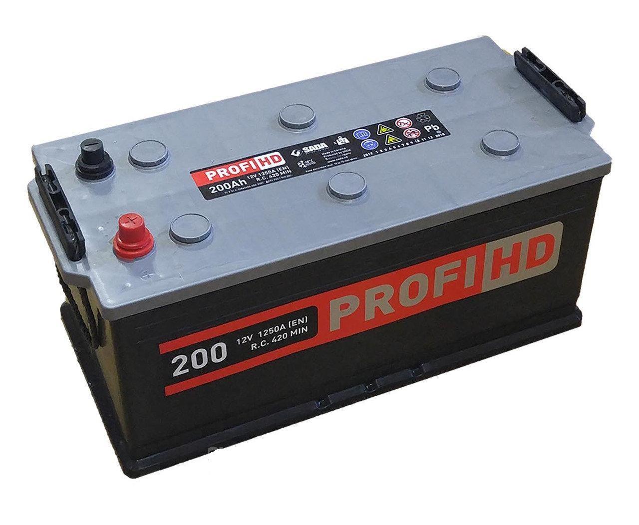 Аккумулятор  6СТ- 200Аз Profi