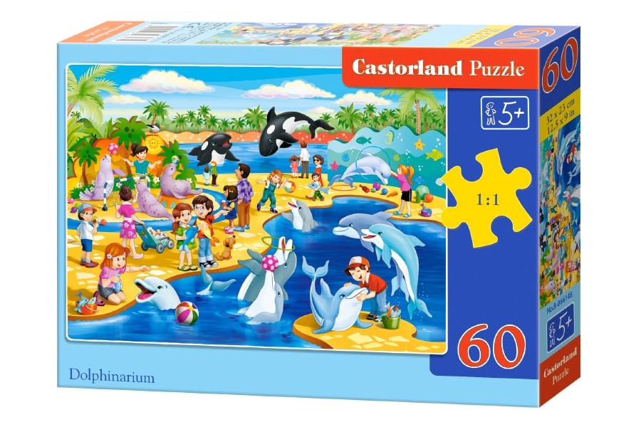 Пазлы Castorland на 60 элементов Дельфинарий B-066148