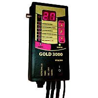 Вентилятор и автоматика для твердотопливных котлов Gold 3000+RMS-120 DS