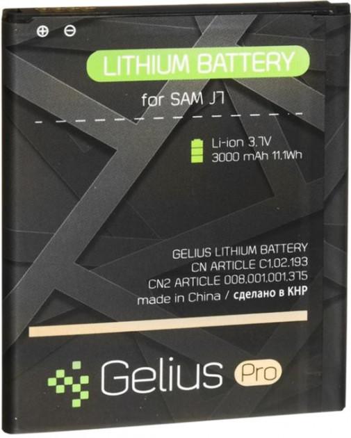 Аккумулятор Gelius Pro Samsung J700/ J7/ J400 Galaxy J4 / BE-BJ700BBC 3000mAh (2018)
