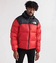 Мужская зимняя куртка The North Face красная