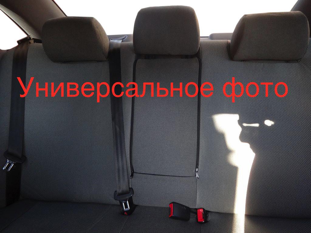 Авточехлы Classik (тканевые, передние) Fiat Doblo III nuovo 2010↗ и 2015↗ гг. / Тканевые чехлы Фиат Добло