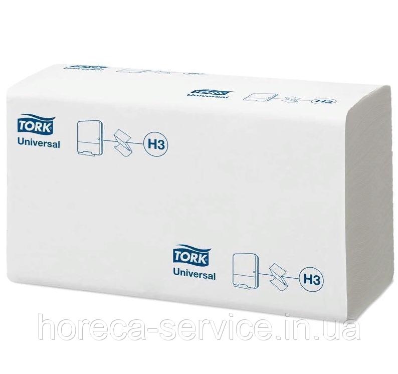 Tork Universal Бумажные полотенца листовые сложение Singlefold однослойные 250 шт. белые Н3