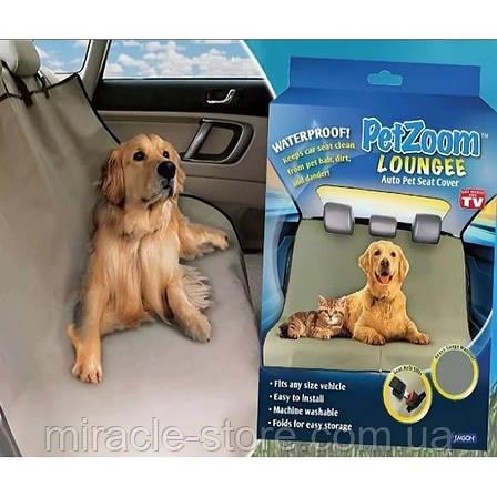 Підстилка для домашніх тварин в автомобіль Pet Zoom, фото 2
