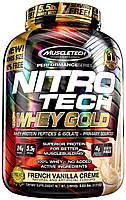 Протеин нитро-теч MuscleTech Nitro-Tech Whey Gold 5,5 lb 2,51кг вкус уточнять