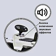 Каталка-толокар V-10505 JOY Красный свет фар 2 песни русское озвучивание, фото 2