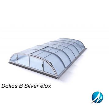 Павільйон для басейну Dallas У 5,2x8,6x1,0м - Silver elox
