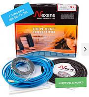 Теплый пол кабель нагревательный двужильный TXLP/2R 400/17 Норвегия (2,4-2,9 м.кв).