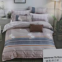 Комплект качественного постельного белья в полоску Koloco