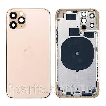 Корпус iPhone 11 Pro (US) Gold (Original PRC), фото 2