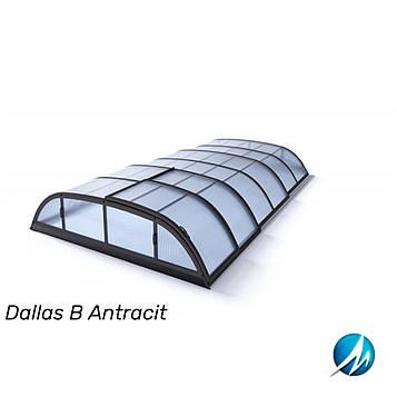 Павильон для бассейна Dallas В 5,2x8,6x1,0м - Antracit
