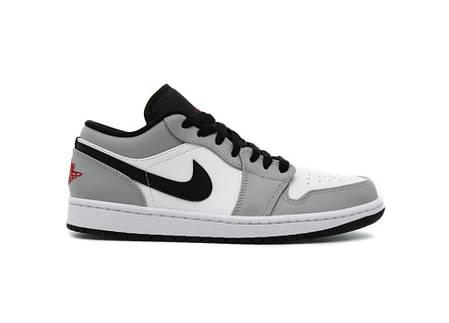 """Кросівки Nike Air Jordan 1 Low x Dior """"Сірі"""", фото 2"""