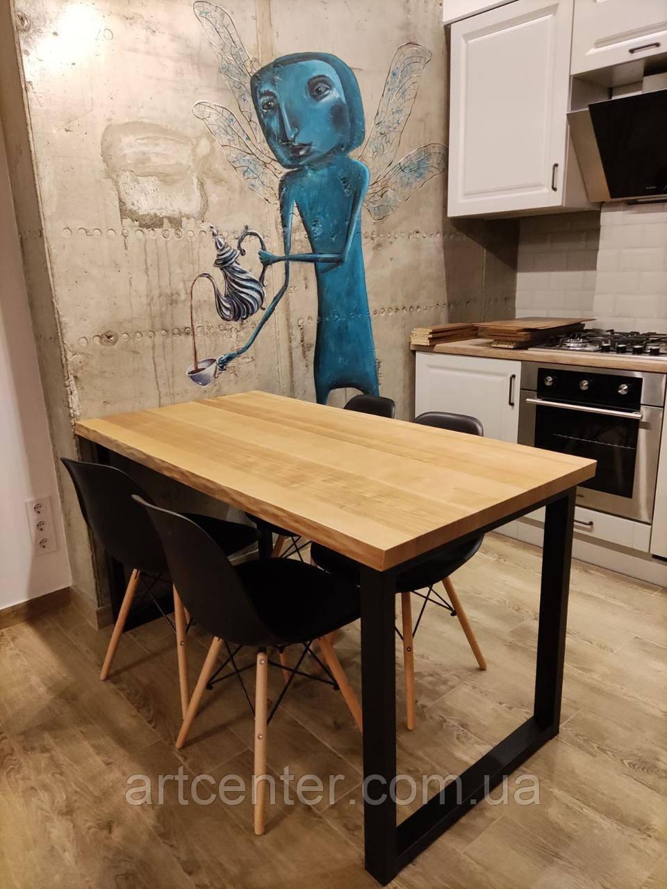 Стіл прямокутний LOFT, стіл обідній, стіл для кафе, ресторану