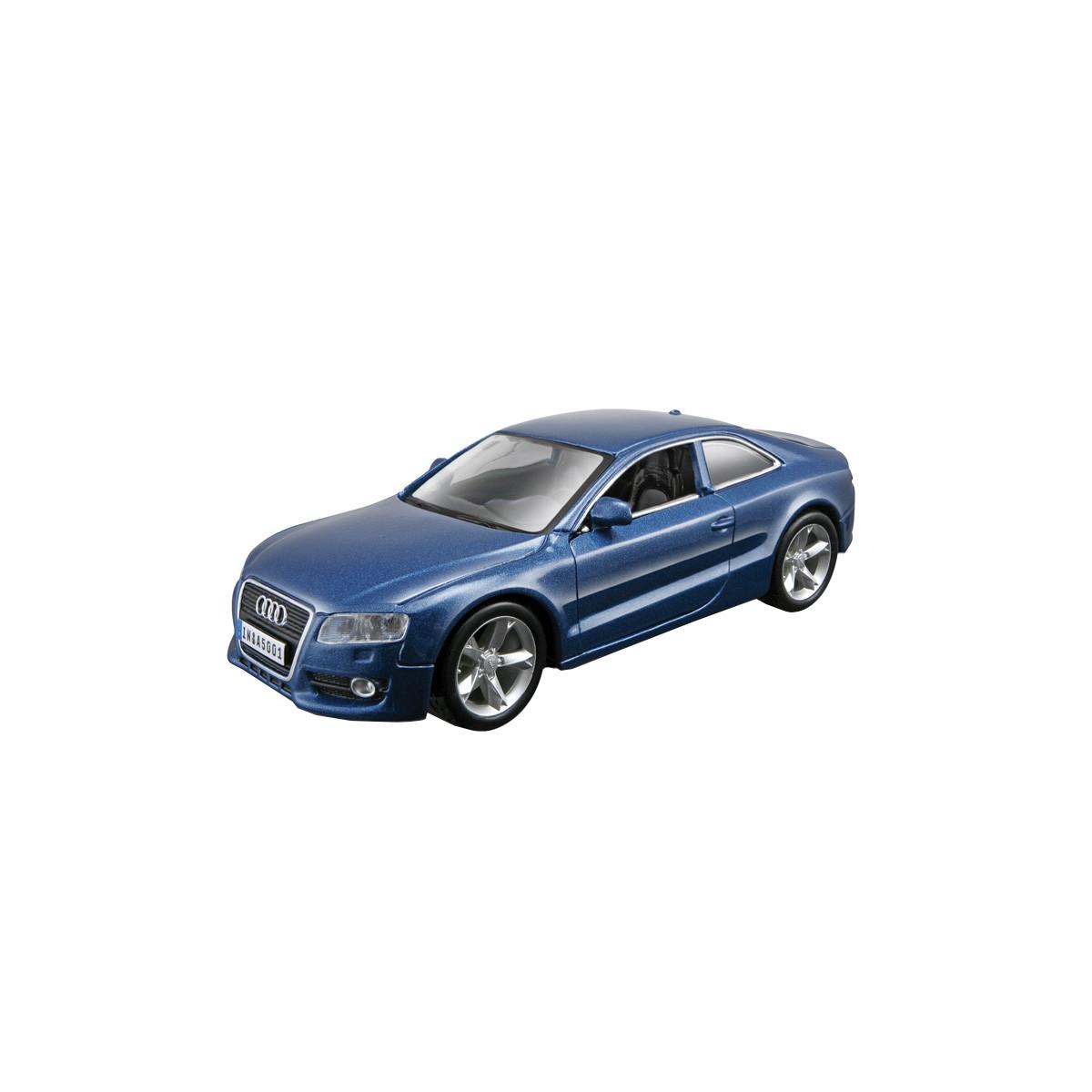 Автомодель - AUDI A5 (ассорти синий металлик, белый, 1:32), 18-43008