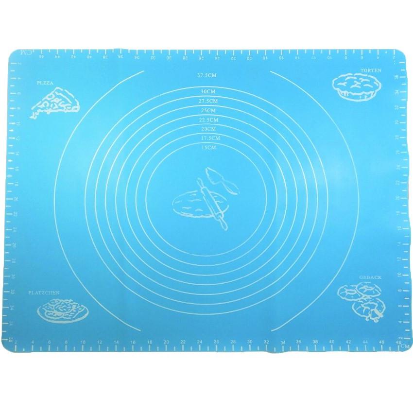 Силиконовый коврик для выпечки Benson BN-022 (64*45 см) | коврик кондитерский Бенсон | коврик для теста Бэнсон