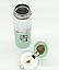 Термос из нержавеющей стали Benson BN-081 (350 мл) салатовый | термочашка Бенсон | термокружка Бэнсон, фото 2