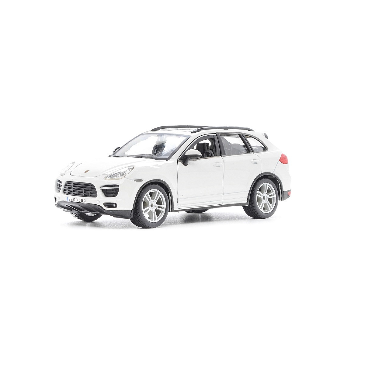 Автомодель - PORSCHE CAYENNE TURBO (ассорти белый, желтый, 1:24), 18-21056