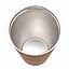 Термочашка с ложкой из нержавеющей стали Benson BN-130 (330 мл) золотая   термокружка Бенсон   термос Бэнсон, фото 2