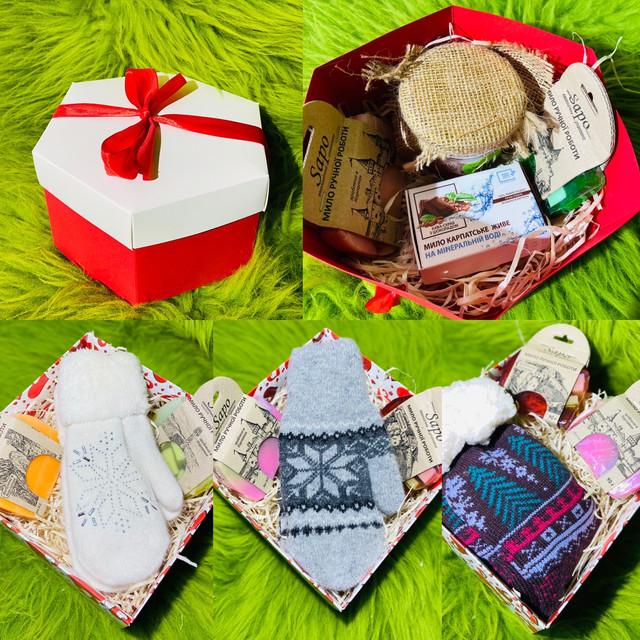 Подарункові набори до Дня Закоханих, 8 Березня та інших свят.