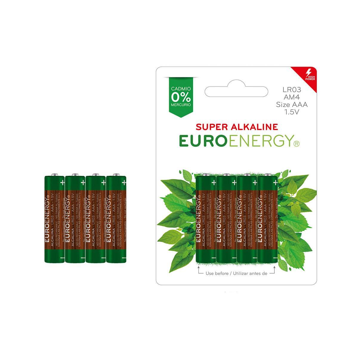 Батарейка SUPER ALKALINE.розмір AAA (LR03).напругою.:1.5 Ст. цил. форми (1 шт. з термоусад.плівки), LR03