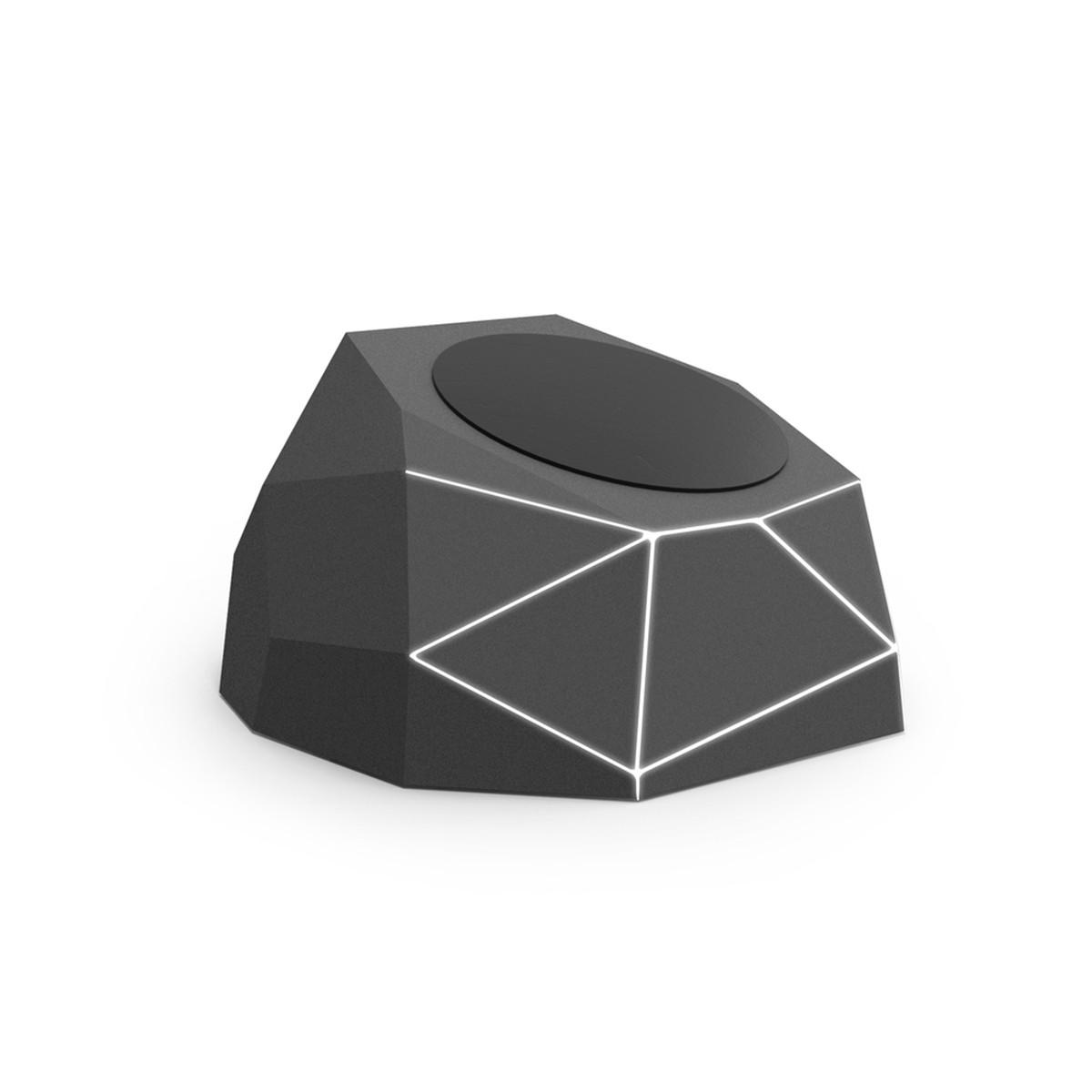 Безпров.зар. пристрій для моб. тел. XOOPAR-GEO DOCK(черн.,бел.LED, microUSB-каб для піт.від порту USB),
