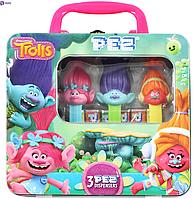 Подарочный набор Pez Trolls 51 g