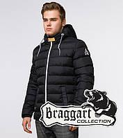 Braggart Aggressive 35228   Куртка мужская зимняя черный-желтый