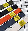 Ремень текстильный тканевый холщевый пояс черный красный хаки длинный на карабине застежке женский мужской, фото 9