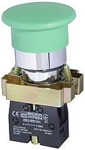 """XB2-BC31 Кнопка """"грибок"""" (d 40 мм) """"Старт"""" зелений"""