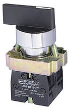 XB2-BJ33 поворотна Кнопка 3-х поз. подовжена ручка