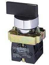 XB2-BJ53 Кнопка пов. 3-х поз.з сомовозр Удл. ручка